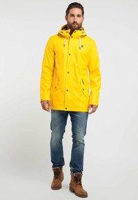 Schmuddelwedda - ANORAK - Parka - yellow - 1