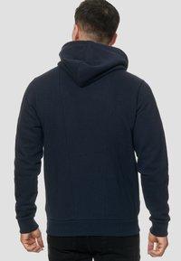 INDICODE JEANS - ELM - Zip-up hoodie - navy - 2