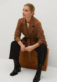 Violeta by Mango - CLARA - Short coat - bruin - 4