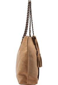 IZIA - Tote bag - camel - 2