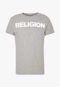 Religion - REFLECT TEE - Triko spotiskem - grey marl - 3