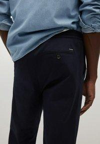 Mango - MATEO - Trousers - dunkles marineblau - 4