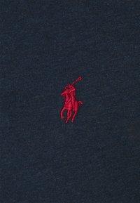 Polo Ralph Lauren - CUSTOM SLIM FIT JERSEY CREWNECK T-SHIRT - Jednoduché triko - medieval blue heather - 2
