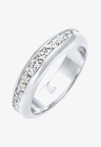 GLASS CRYSTAL - Bague - silver-coloured