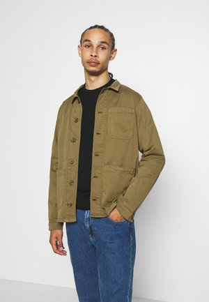 WORKWEAR JACKET - Chaqueta fina - oil green