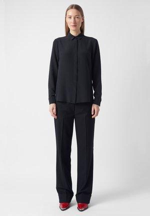 VIVIEN  - Button-down blouse - black