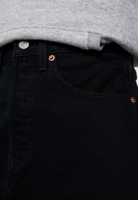 Levi's® - DECON ICONIC SKIRT - Jupe trapèze - black denim - 3