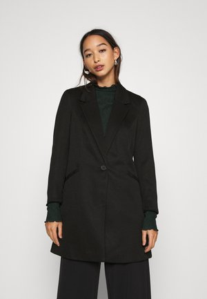 VMCHECK 3/4 LONG - Short coat - black