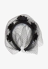 Uterqüe - MÜTZE - Hair styling accessory - black - 0