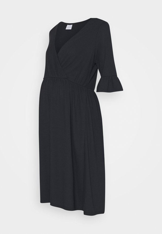 MLREVA TESS DRESS - Jerseyklänning - dark navy