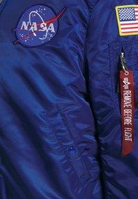 Alpha Industries - NASA - Bomberjacks - nasa blue - 2