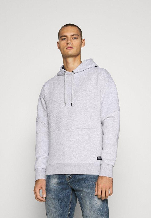 JCOBUTTON - Hoodie - light grey melange