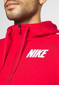 Nike Performance - DRY  - Sudadera con cremallera - university red/mystic dates/white - 5