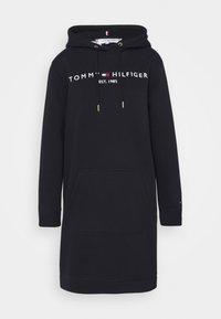 Tommy Hilfiger - HOODIE DRESS - Day dress - blue - 5