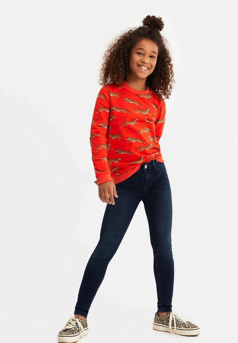 WE Fashion - MEISJES - Jeans Skinny Fit - dark blue
