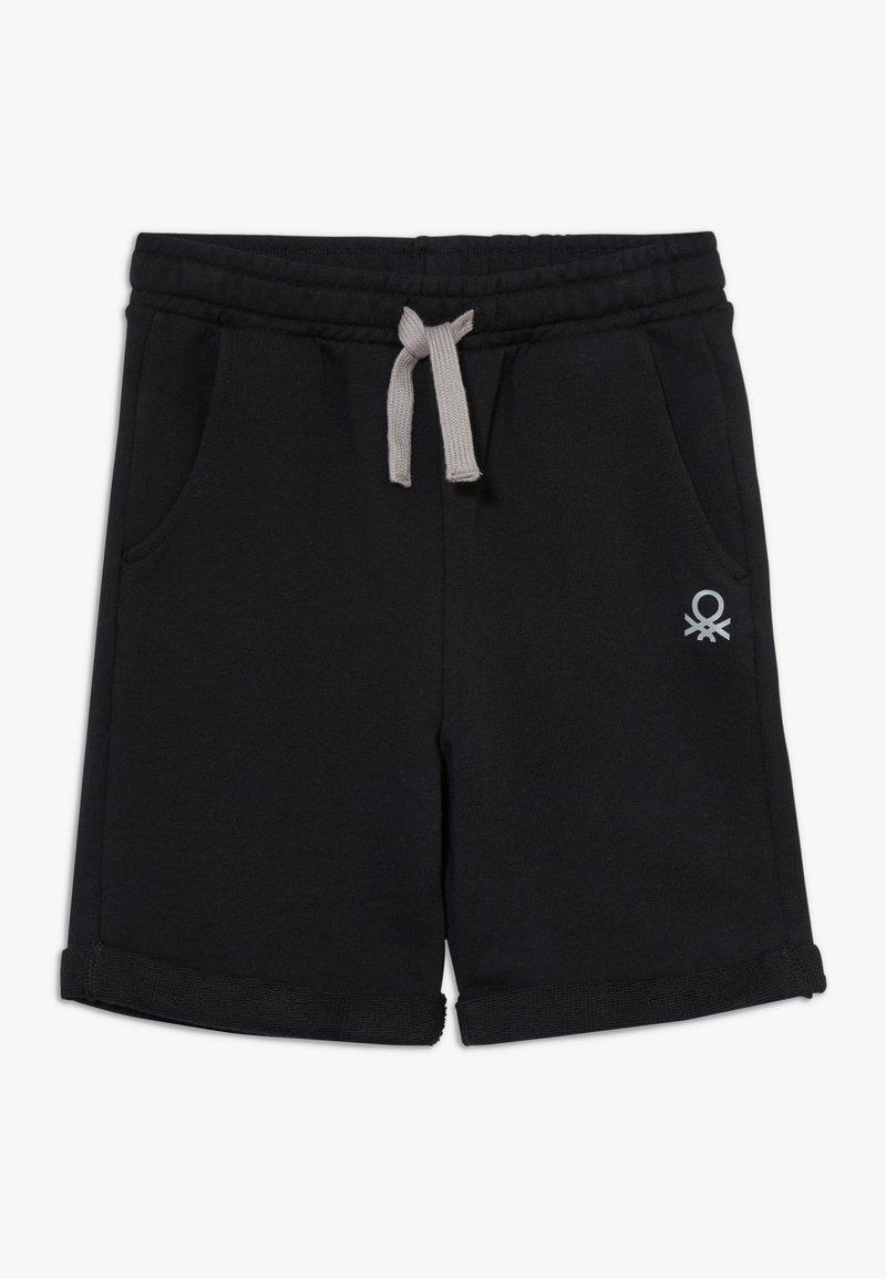 Benetton - BERMUDA - Shorts - black