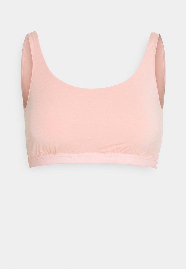 Alustoppi - light pink