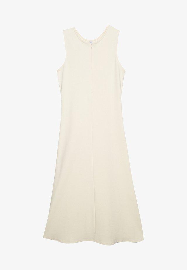 JODIE - Jerseyklänning - seedpearl white