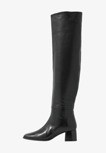 CAMILLE HIGH BOOT - Over-the-knee boots - black