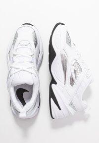 Nike Sportswear - TEKNO  - Sneakersy niskie - white/metallic silver/black - 3