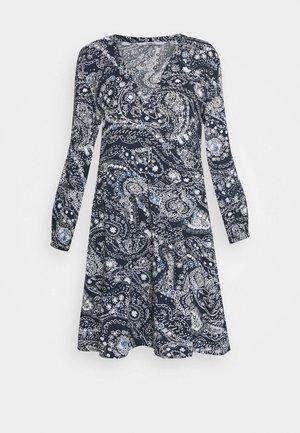 ONLNOVA LIFE THEA DRESS  - Day dress - night sky/indigo paisley