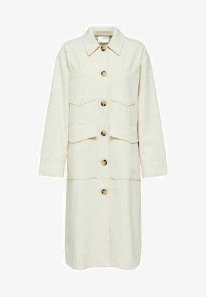 RELAXED FIT - Klasický kabát - sandshell