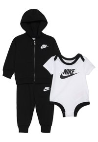 Nike Sportswear - SOLID FUTURA PANT SET BABY - Hoodie met rits - black - 3