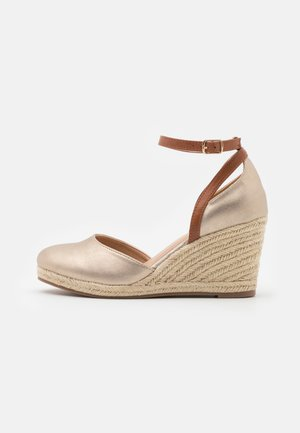 Wedges - gold