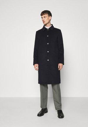 WORLD - Klasický kabát - navy