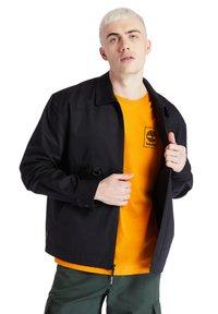 Timberland - YC WORKWEAR JACKET - Summer jacket - black - 4
