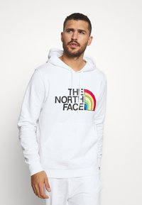 The North Face - RAINBOW HOODY - Hoodie - white - 0