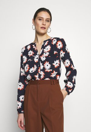 ALLOVER PRINTED BLOUSE - Bluser - navy