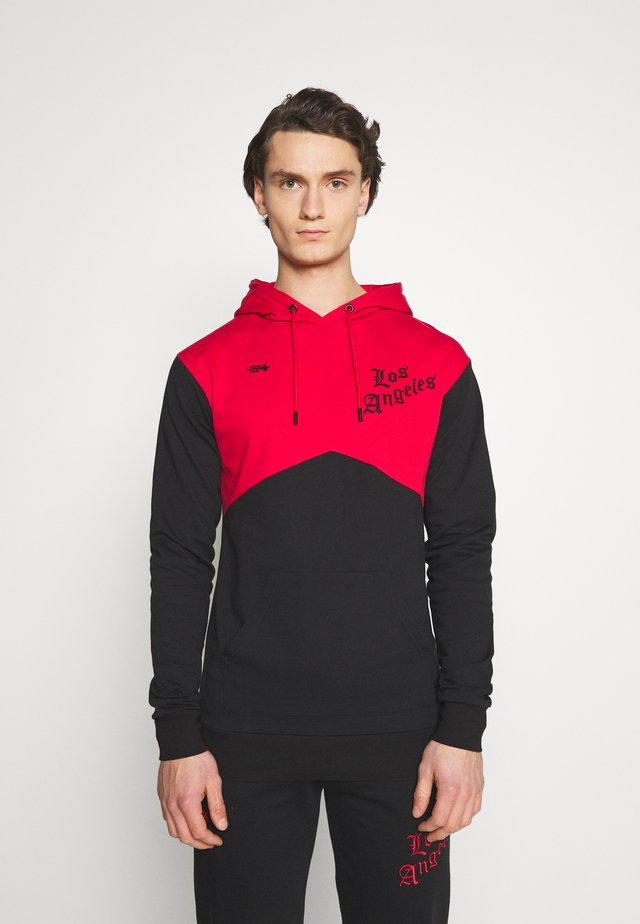 ROMER TRACKSUIT SET - Tuta - black/red