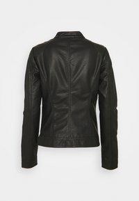ONLY Tall - ONLBANDIT BIKER - Faux leather jacket - black - 1