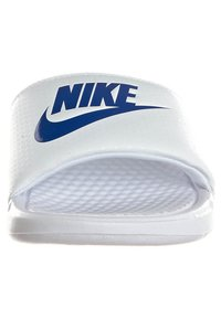 Nike Sportswear - BENASSI JDI - Pool slides - whire/varsity royal-white - 3