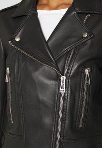 Belstaff - NEW MARVINGT JACKET - Leren jas - black - 3