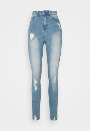 SINNER HIGHWAISTED DESTROYED - Jeans Skinny Fit - light blue