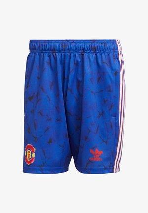REPLICAS INTERNATIONAL MANCHESTER  - Pantalón corto de deporte - blau