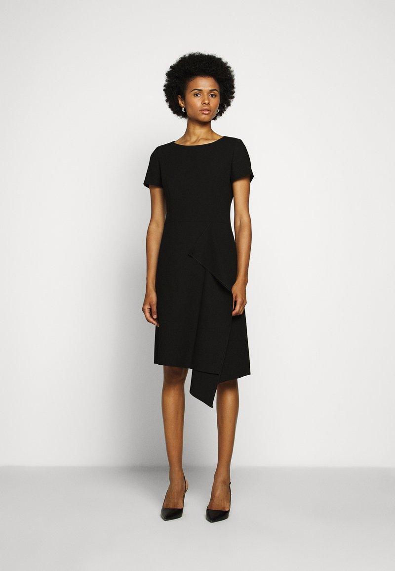 HUGO - KIBINA - Pouzdrové šaty - black