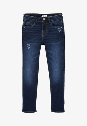 "WATERLESS"", HÜFTWEITE SLIM - Slim fit jeans - dark blue"