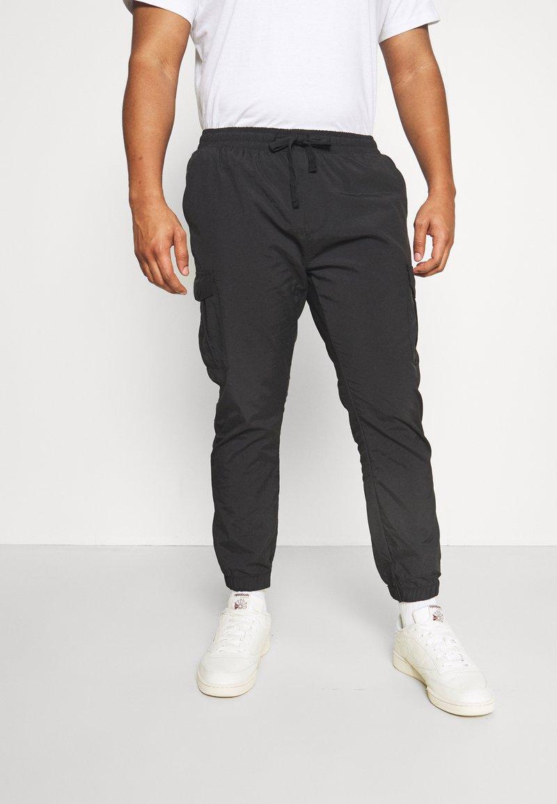 Brave Soul - Cargo trousers - black
