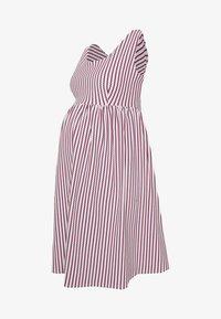 EUGÉNIE - Denní šaty - red/white/navy
