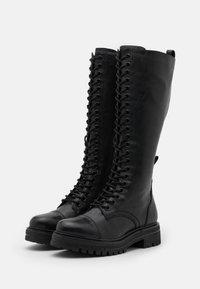 Tamaris - BOOTS - Lace-up boots - black - 2