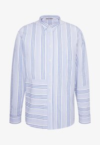 TAPE SHIRT - Shirt - light blue/white