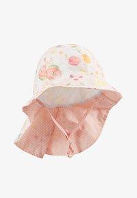 Maximo - MINI GIRL FLAPPER - Hat - zart rosa melange/gelb - 1