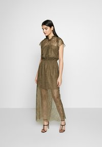 DESIGNERS REMIX - VANESSA LONG DRESS - Suknia balowa - khaki - 0