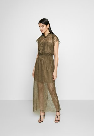 VANESSA LONG DRESS - Occasion wear - khaki