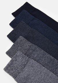 Pier One - 5 PACK - Socks - dark blue - 1