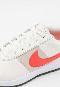 Nike Golf - CORTEZ - Golf shoes - sail/magic ember/light orewood brown/white - 5