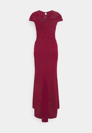 ELLE DRESS - Occasion wear - wine